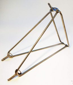 1-steel tubing bicycle rear carrier