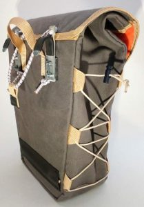 1- waxed canvas pannier 17